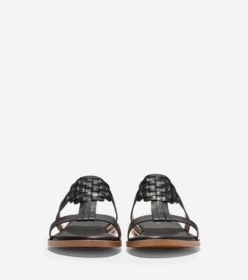 Findra Woven Slide Sandal