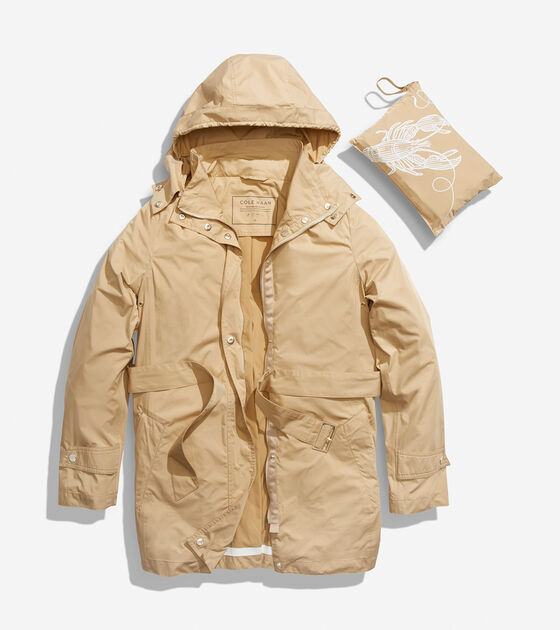 Tunnel Neck Packable Jacket