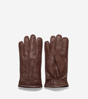 Handsewn Deerskin Leather Gloves