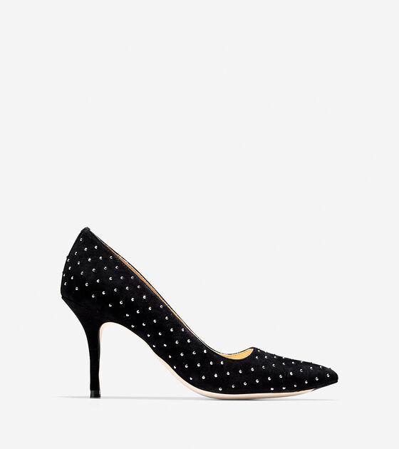 Shoes > Bradshaw Stud Pump (85mm) - Pointy Toe