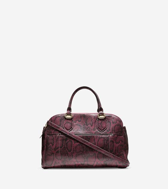 Handbags > Tali Double Zip Satchel