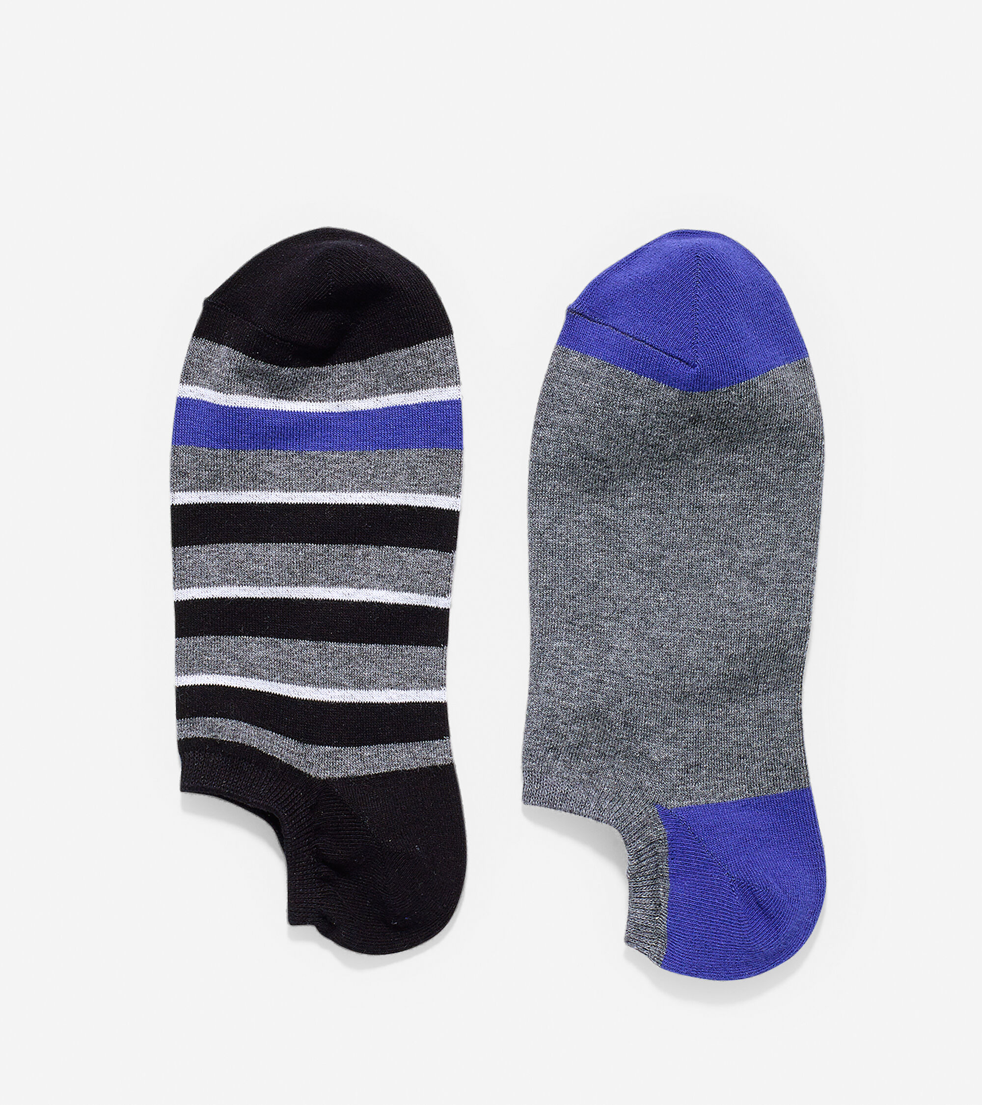 Accessories > Village Stripe Low Cut Socks - 2 Pack