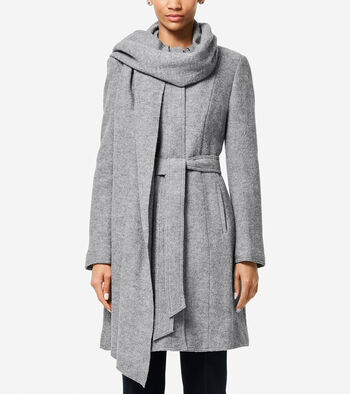 Signature Scarf Coat