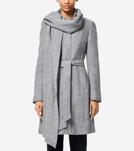Outerwear > Signature Scarf Coat