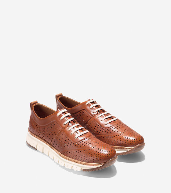 ZERØGRAND Perforated Sneaker