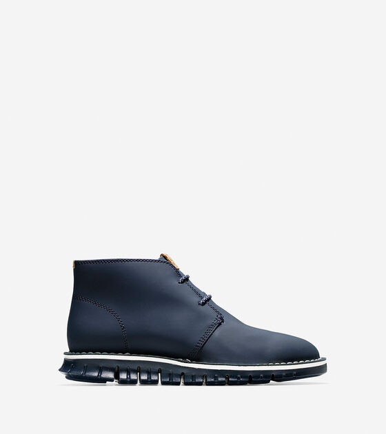 Shoes > Men's ZERØGRAND Stitch Out Chukka