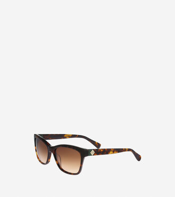 Squared Cat Eye Sunglasses