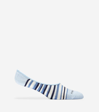 Town Stripe Sock Liner - 2 Pack