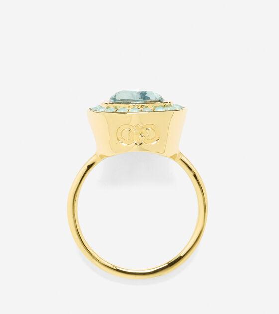 Halo Swarovski Ring