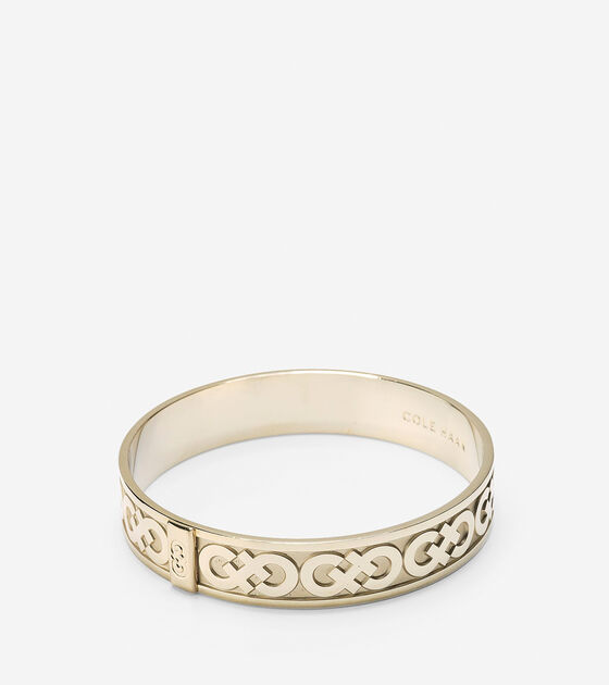 Accessories > Metal Logo Bangle