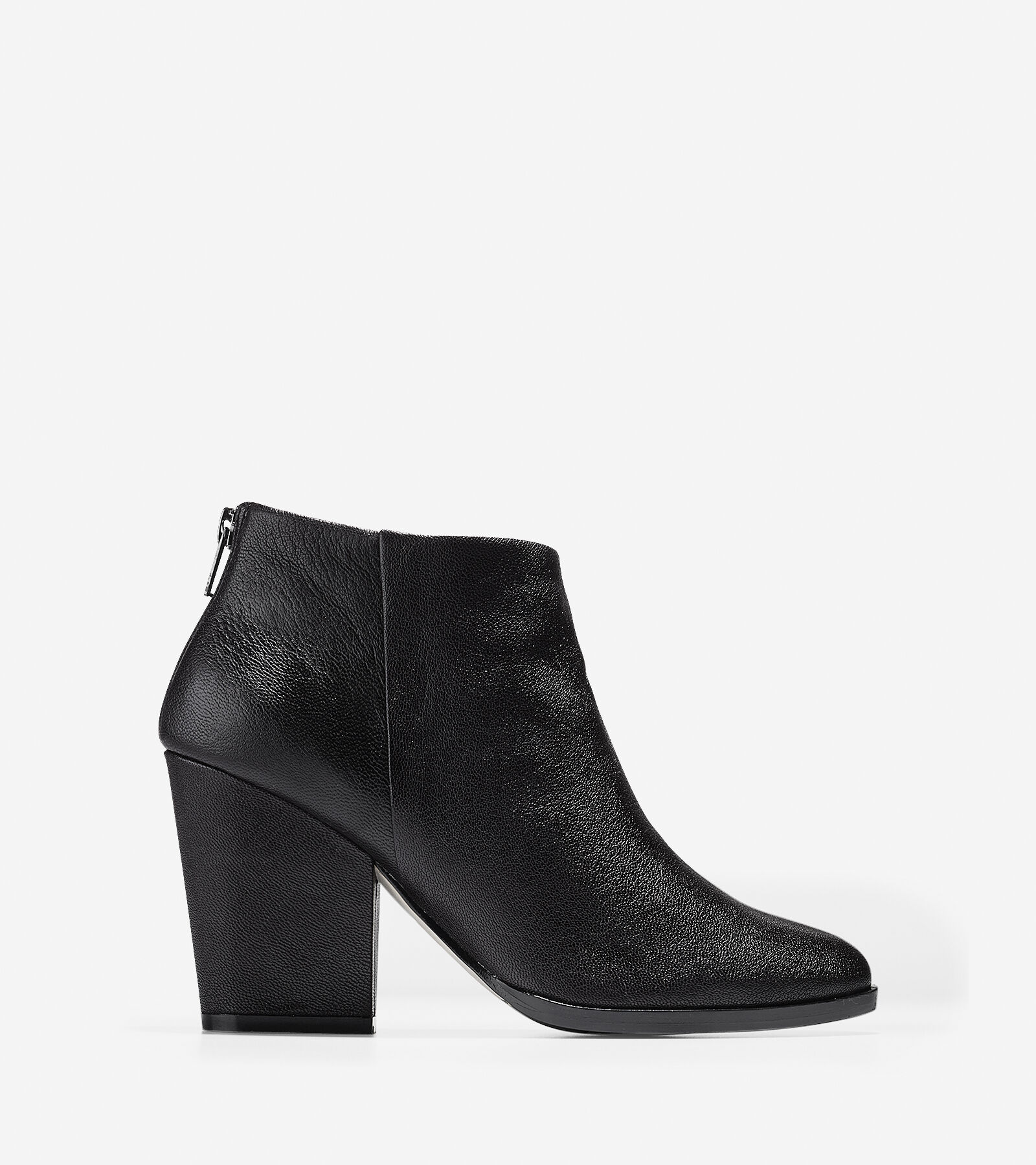 Womens Boots Cole Haan Dey Bootie Black Leather
