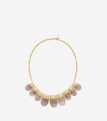 Sandy Shores Semi-Precious Drama Stone Necklace