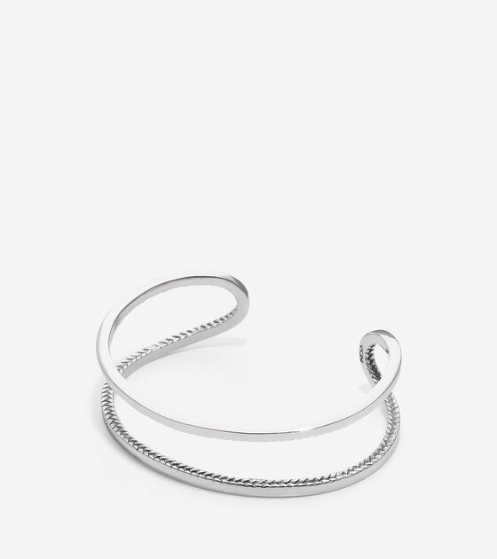 Accessories > Geometric Open Cuff Bracelet