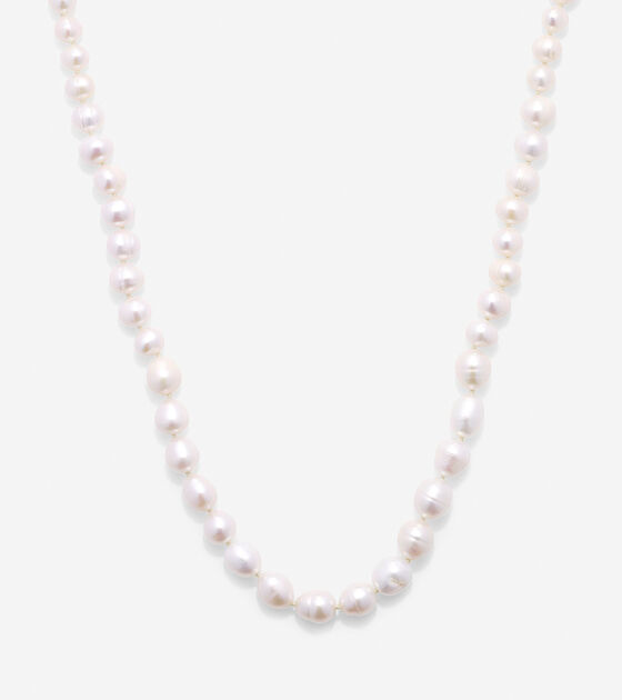 Accessories > Tali Pearl Fresh Water Pearl Pull Tie Necklace