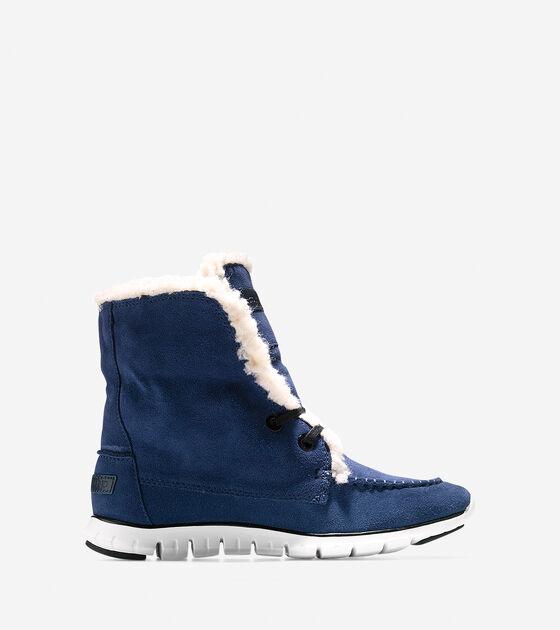 Shoes > ZERØGRAND Shearling Waterproof Chukka
