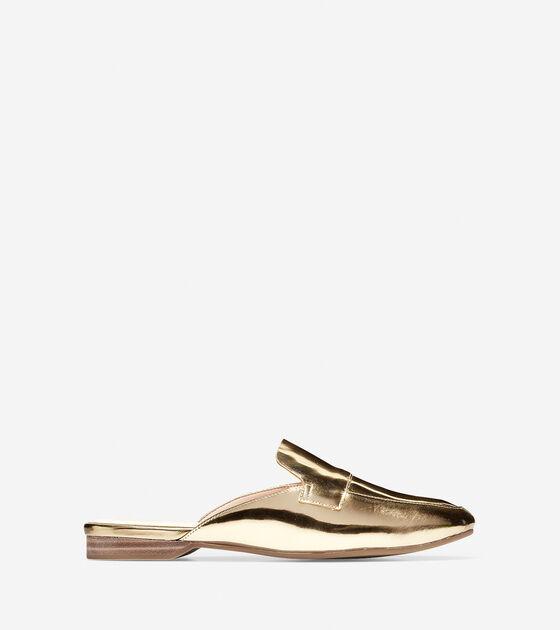 Shoes > Delcie Loafer Mule