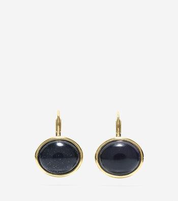 Adair Stone Leverback Earrings