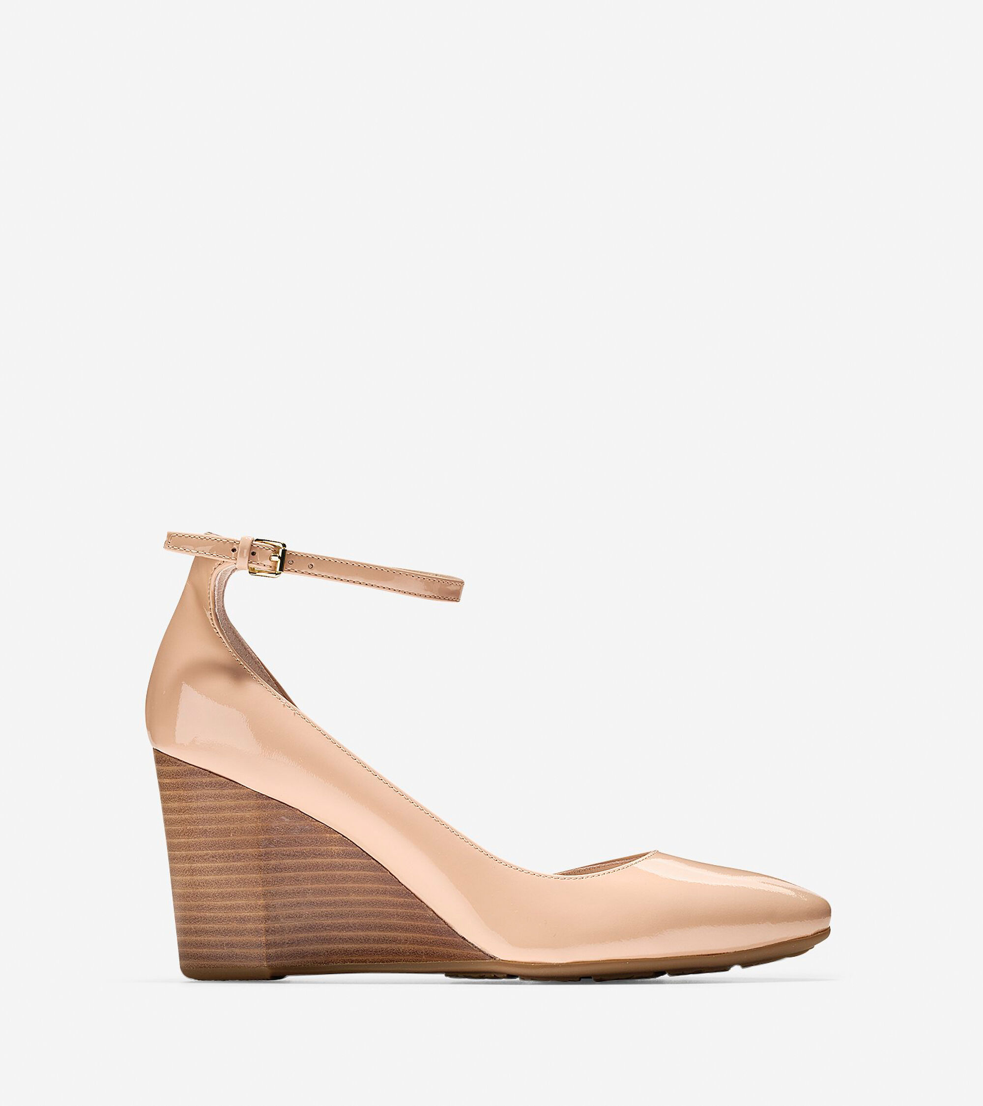 Wedges > Lacey Ankle Strap Wedge (85mm)