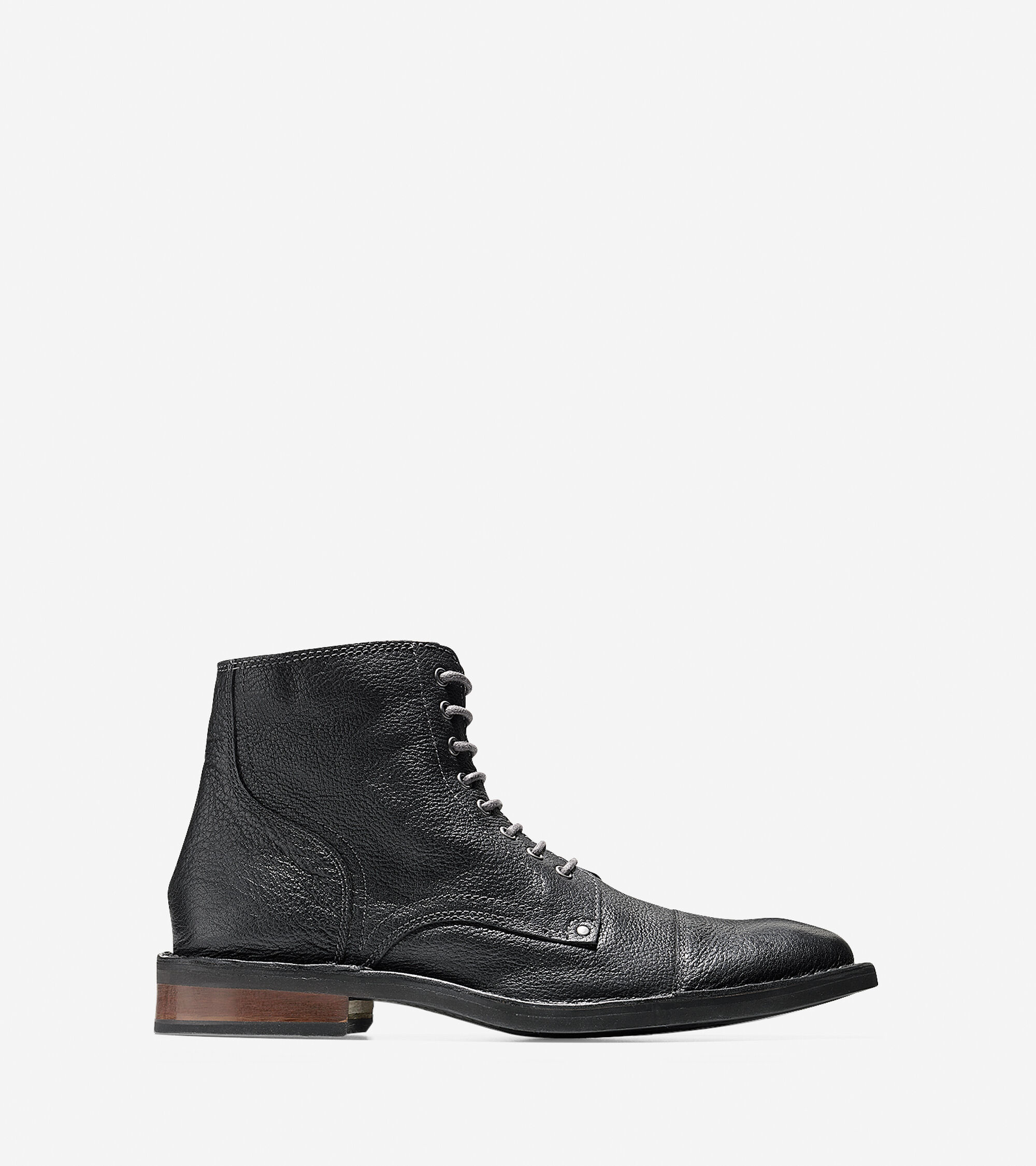 Boots > Canton Stitch Cap Toe Boot