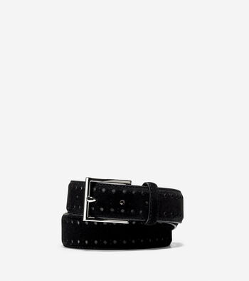 32mm Bridal Suede Belt