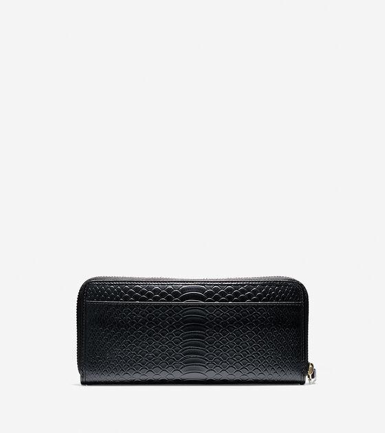 Isabella Continental Zip Wallet