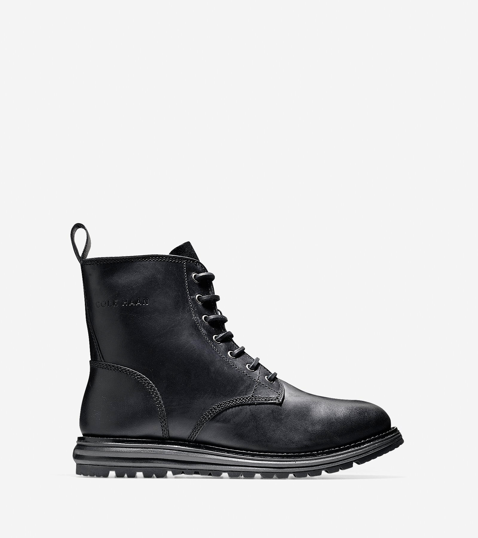 discount 100% guaranteed affordable sale online Cole Haan Leather Lace-Up Booties cheap fashion Style clearance manchester great sale pre order online rEuxABDi9