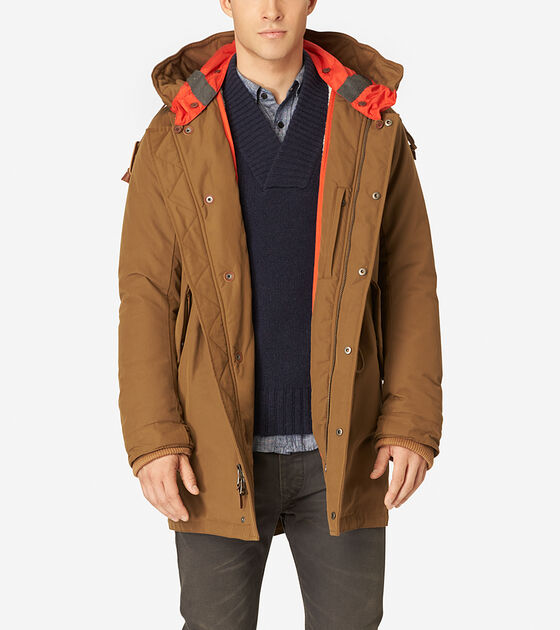 Outerwear > Military Oxford Parka
