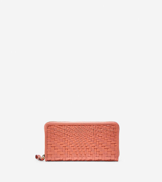 Accessories > Genevieve Weave Large Continental Wallet