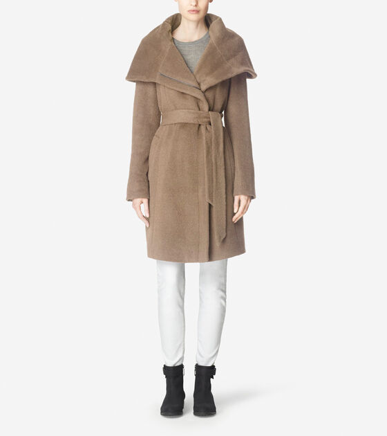 Bags & Outerwear > Suri Alpaca Belted Coat