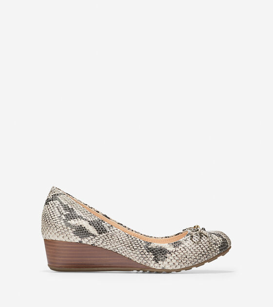 Wedges > Tali Grand Lace Wedge (40mm)