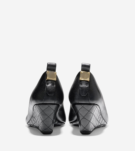 Tali Grand Quilted Wedge (65mm)