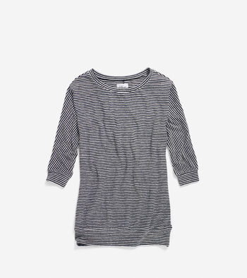 Women's Pinch Melange Boatneck Top