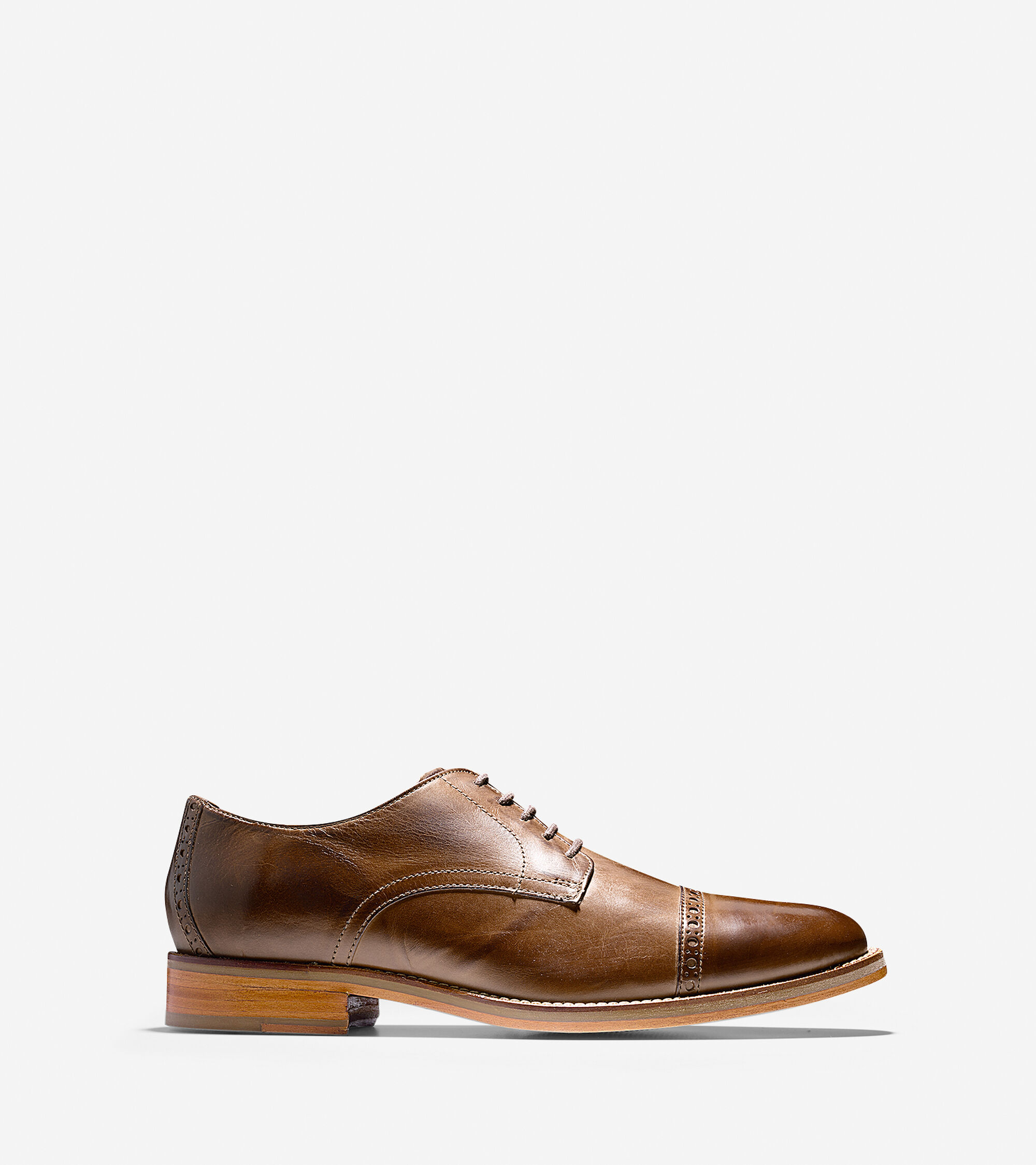 Oxfords & Monks > Preston Cap Toe Oxford
