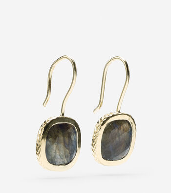 Semi Precious Drop Earring
