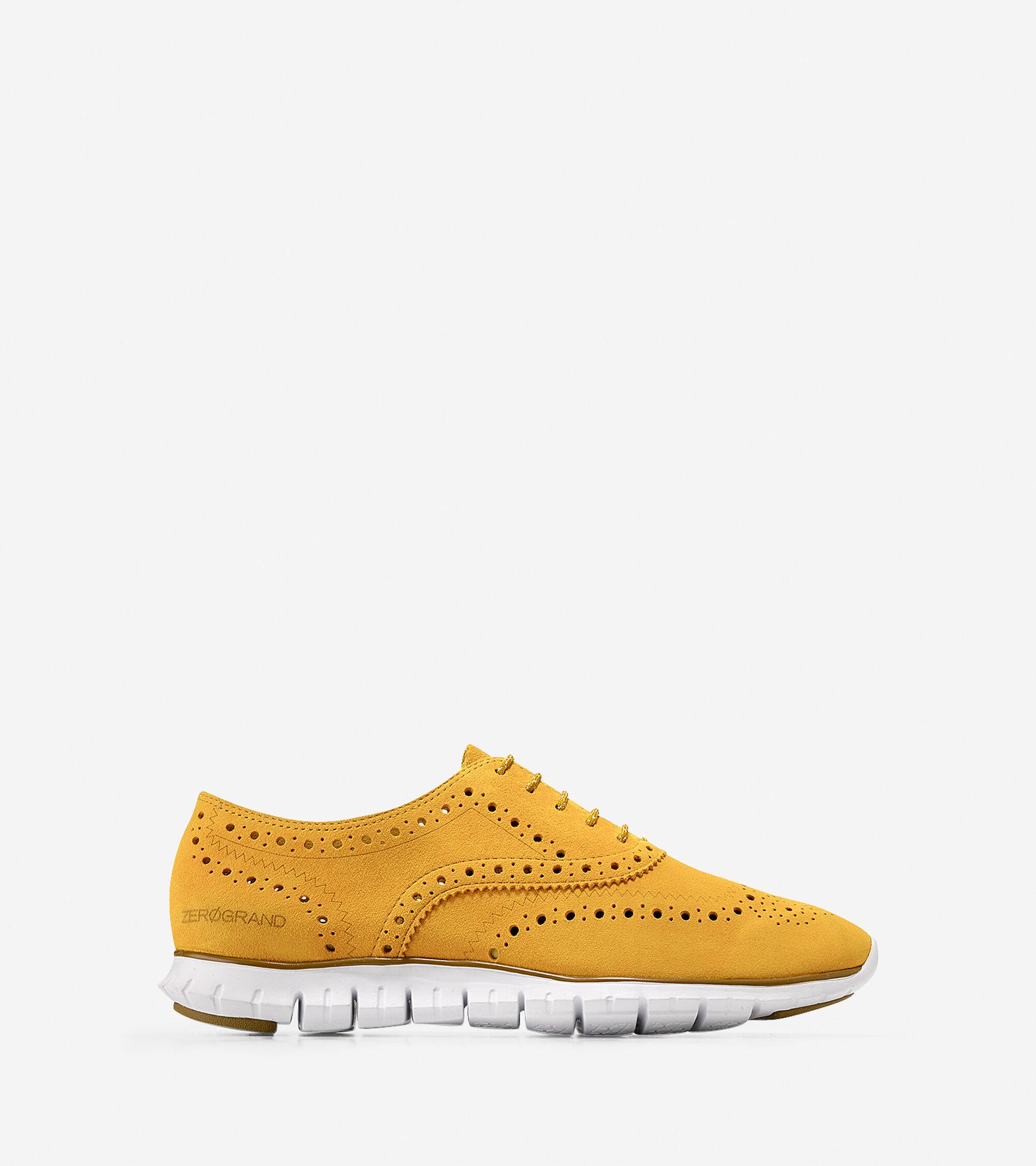 Shoes > ZERØGRAND Wingtip Oxford
