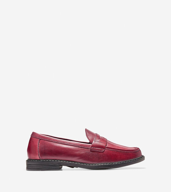 Loafers & Drivers > Women's Pinch Campus Hand-Stained Penny Loafer
