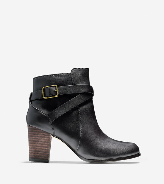 Shoes > Cassidy Buckle Bootie (70mm)