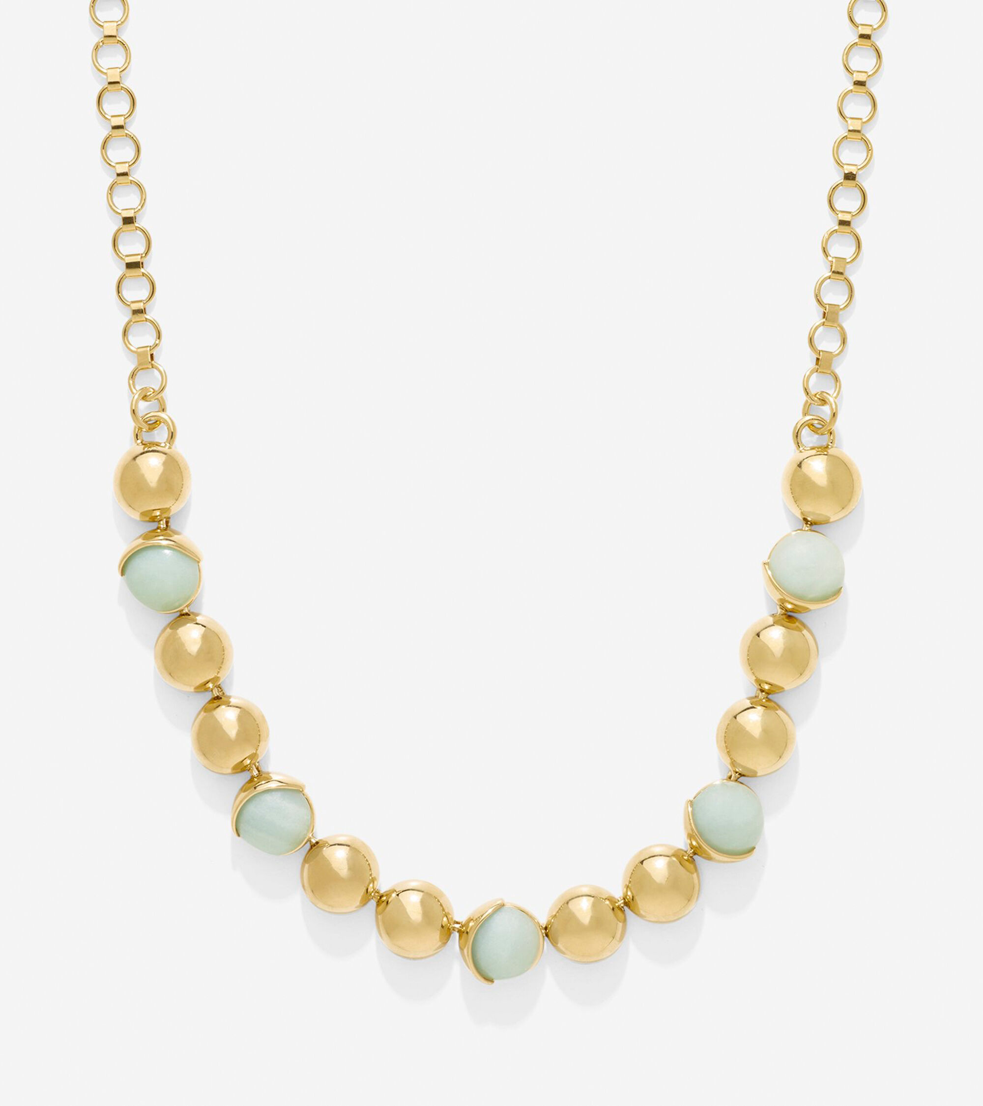 Accessories > Semi-Precious Frontal Necklace