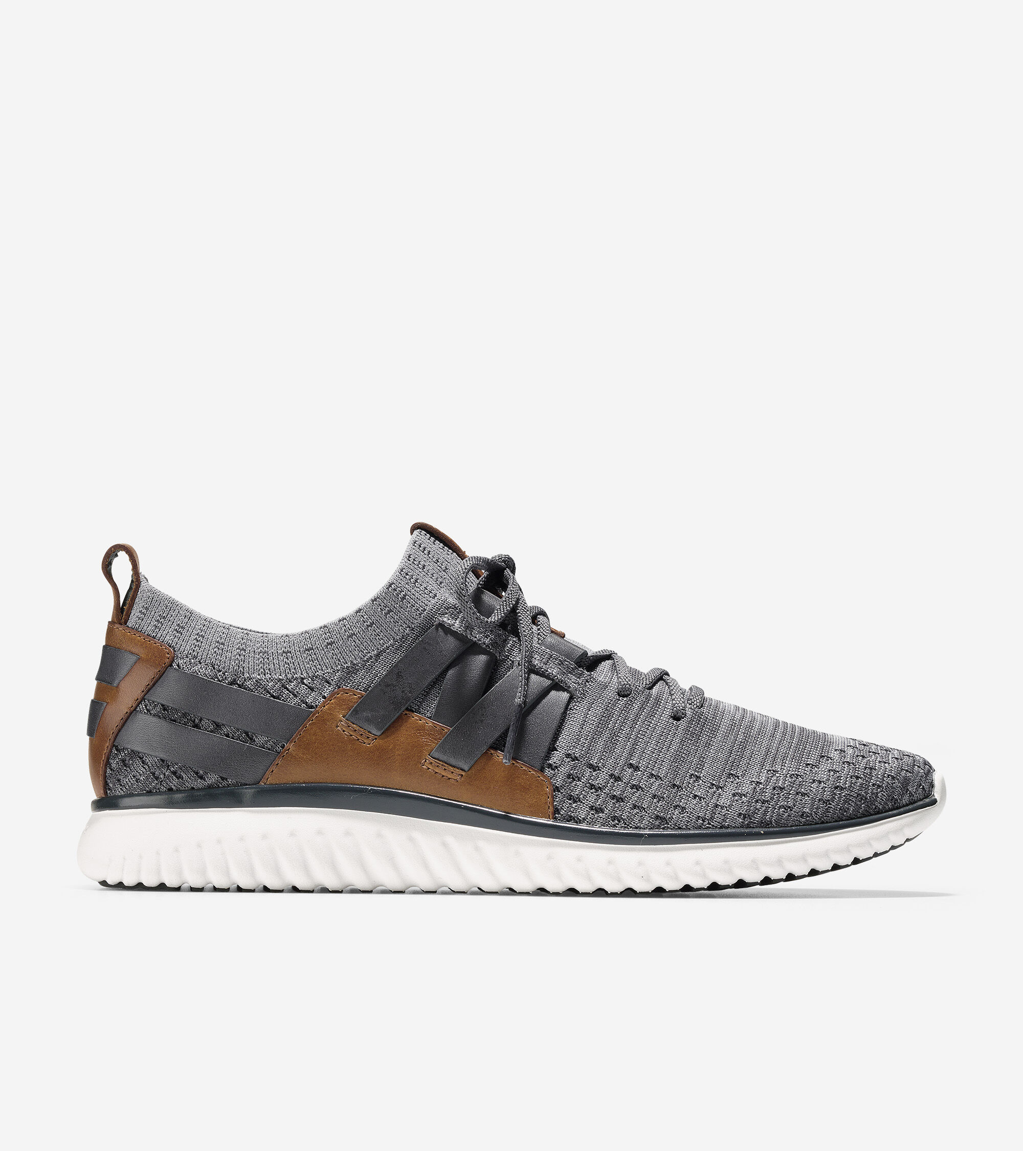 Men's GrandMotion Stitchlite Woven Sneakers in Magnet-Ironstone | Cole Haan