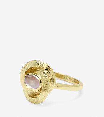 Organic Semi-Precious Ring