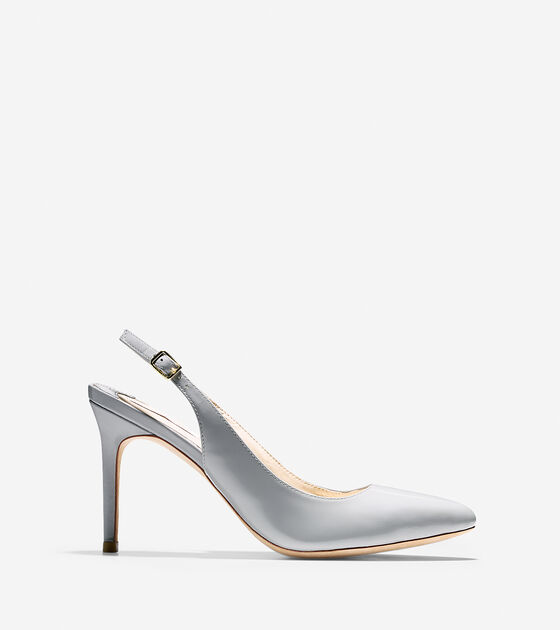 Shoes > Bethany Sling (85mm) - Almond Toe