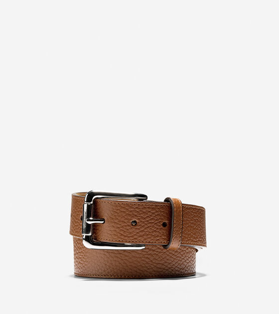 Accessories > 35mm Pebble Leather Belt