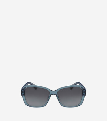 Acetate Modified Rectangle Sunglasses