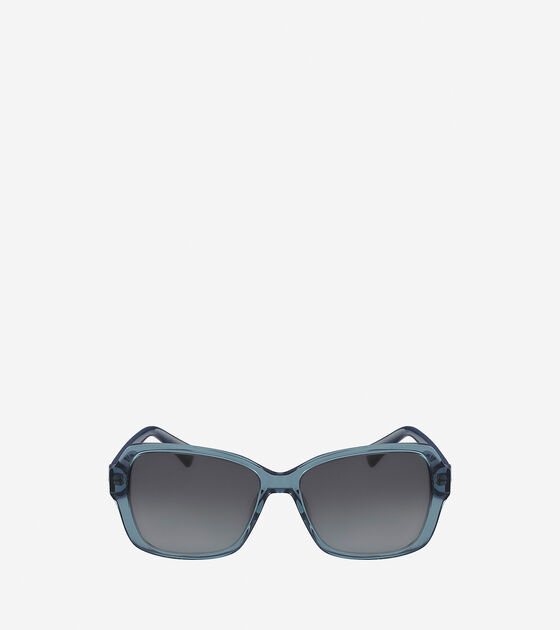 Sunglasses > Acetate Modified Rectangle Sunglasses