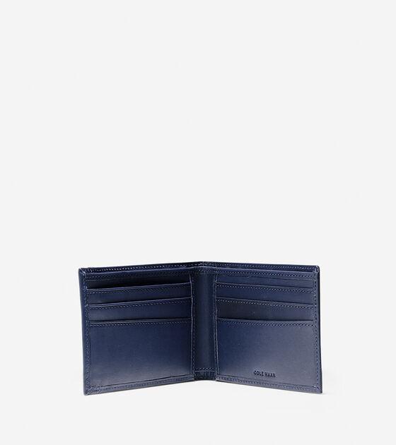 Classic Leather Slim Billfold Wallet