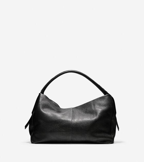 Lockhart Double Strap Leather Hobo