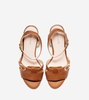 Terrin Buckle Wedge Sandal (40mm)