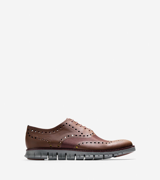 Shoes > ZERØGRAND No Stitch Oxford
