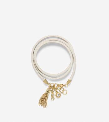 Triple Wrap Snake Bracelet