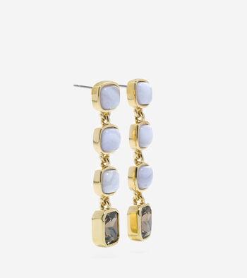 Tali L'Heure Bleue Semi-Precious Drop Stone Earrings
